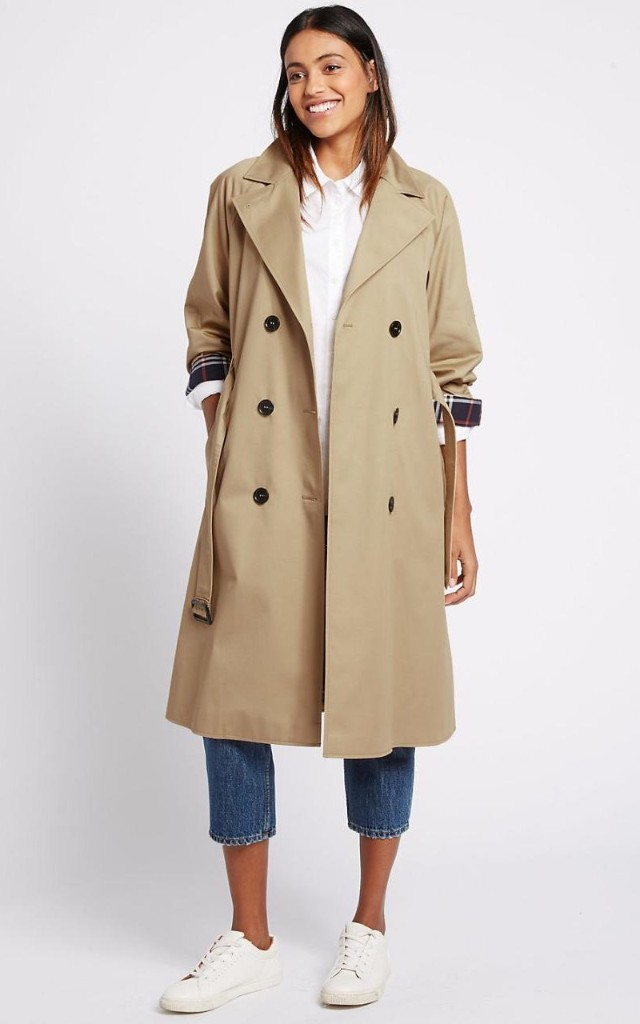The £79 Marks and Spencer coat that everyone will be wearing during London Fashion Week