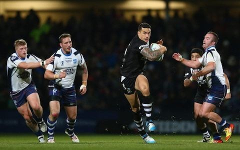 World Cup 2021 draw raises prospect of England facing dual-code Sonny Bill Williams in opening game