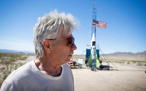 Daredevil 'Mad Mike' Hughes killed after his homemade rocket crashes