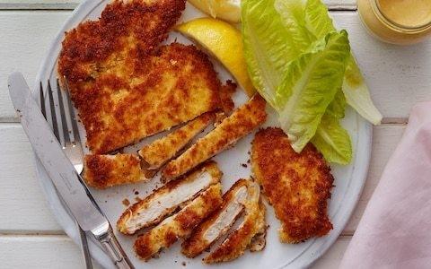 Easy chicken schnitzel recipe