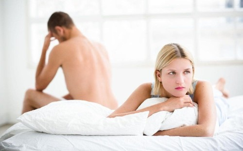 'My boyfriend seems distracted during sex - is he attracted to someone else?'