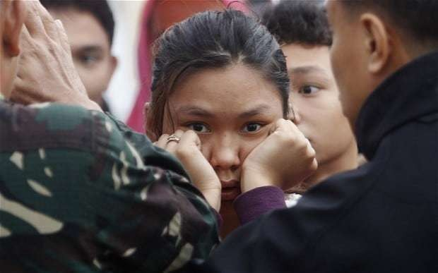 Typhoon Haiyan: 'We are failing thousands of girls at risk of rape or trafficking,' says Justine Greening