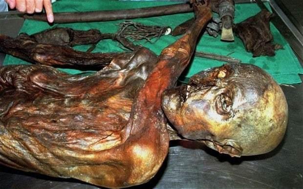 Otzi the ice man's relatives 'found' in Austria