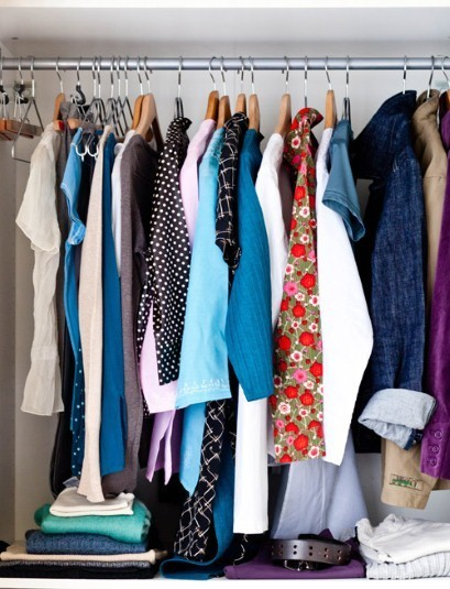 How to edit your wardrobe and avoid 'stuffocation'