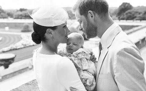 Baby Archie christening: First pictures from the intimate Windsor ceremony