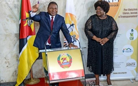 Mozambique votes in test of fragile peace deal