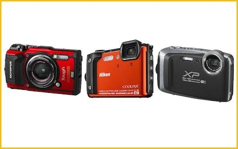 The best waterproof cameras for underwater shooting