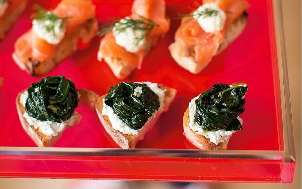 Christmas bruschetta recipes with smoked-salmon and cavolo nero