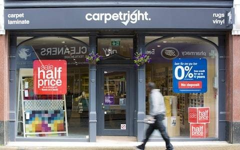 Carpetright could close another 90 stores as sales continue to struggle