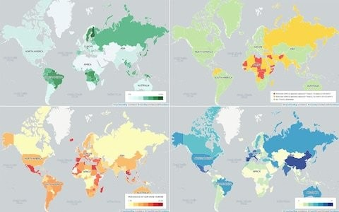 15 maps that will change the way you see the world