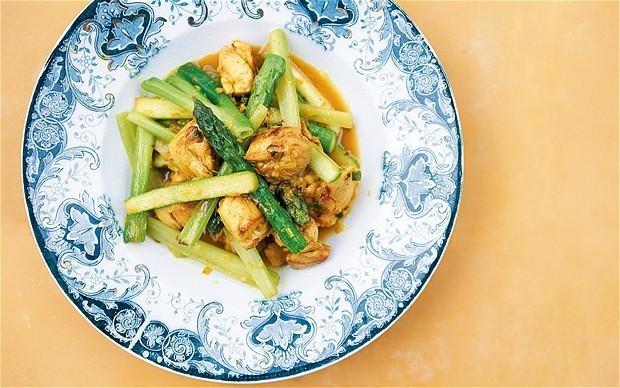Stir-fried Vietnamese lemongrass chicken recipe