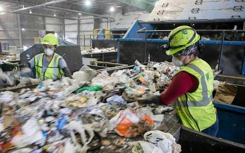 Councils will be forced to recycle all household waste within four years to end chaos