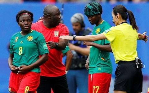 'Don't worry, the referee wants England to win today': Cameroon rail against VAR decisions in World Cup last-16 defeat