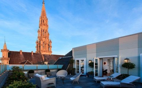 The best romantic hotels in Brussels, including beautiful gardens and exotic rooms