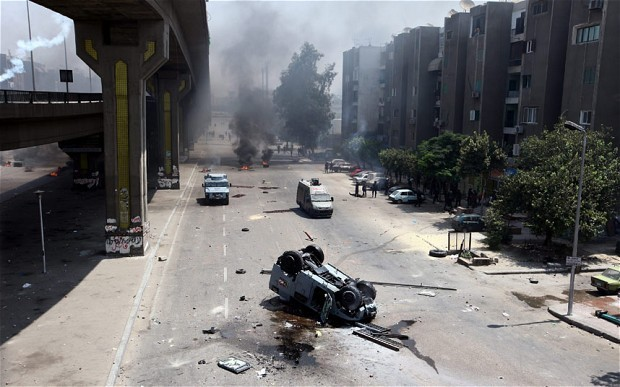 Analysis: Egypt's split society must have the courage to say: 'Enough'