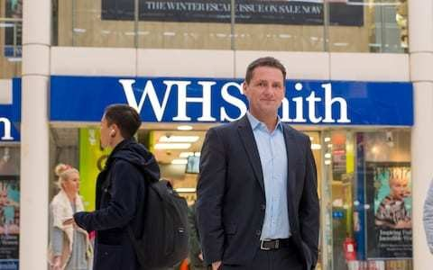 WH Smith's new boss has big shoes to fill