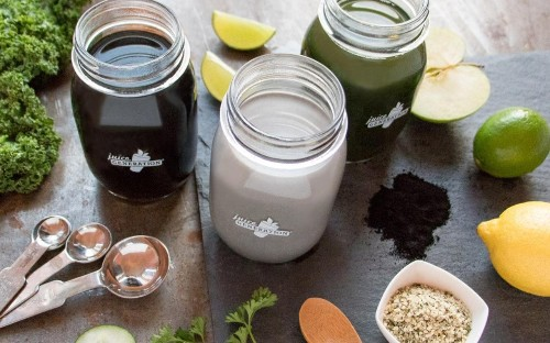 Cold pressed charcoal: the new health juice we'll all be drinking in 2017