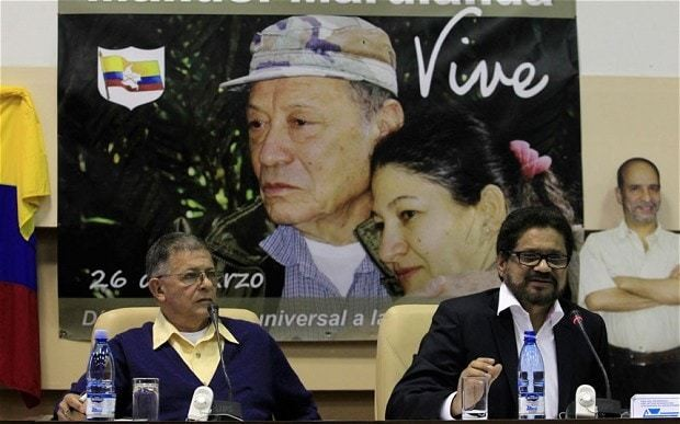 Colombia reaches deal with Farc rebels over land reform