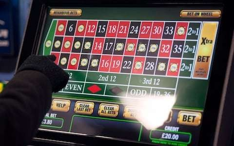 Gambling machines and websites to carry alcohol-style health warnings in new 'public health' approach