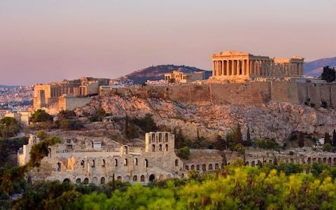 Climate change threatens Acropolis and other ancient Greek monuments