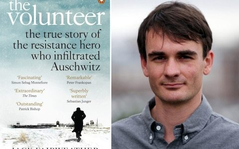 Jack Fairweather's The Volunteer: The True Story of the Resistance Hero who Infiltrated Auschwitz is named the 2019 Costa Book of the Year