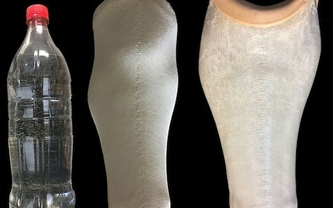 Plastic bottles can be turned into lighter, cheaper prosthetic limbs
