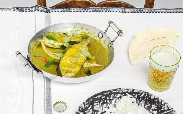 Coastal green coconut fish curry recipe