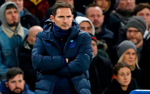 Frank Lampard will come under serious scrutiny should Chelsea fail to secure a Champions League spot this season