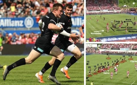 Two tries that epitomised the all-round excellence of Saracens on their march to Twickenham