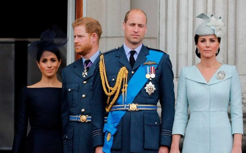 Buckingham Palace has a way of dealing with family feuds… and 'emotional' royals never fare well