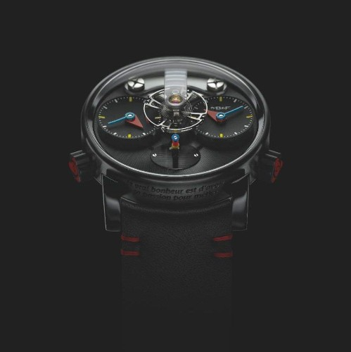 MB&F launches the LM1 Silberstein: the watch embracing brilliantly bold design