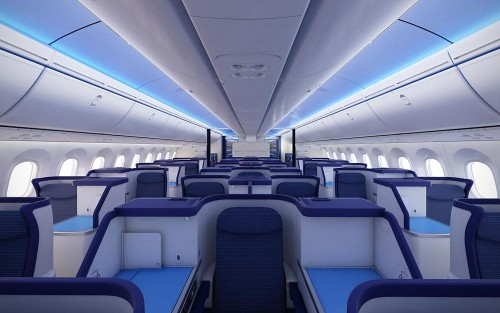 The real reason why most plane seats are blue – and other curious facts about plane cabins