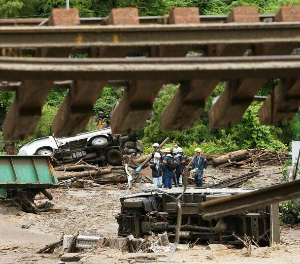 Typhoon Neoguri causes widespread destruction across Japan: In pictures - Telegraph