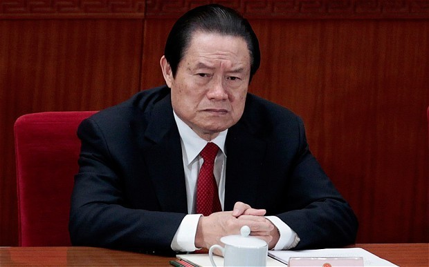 China seizes £8.7bn assets from family and associates of former security chief