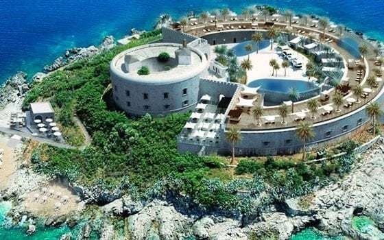 Historic island fortress off Montenegro being turned into 'haven for the rich'