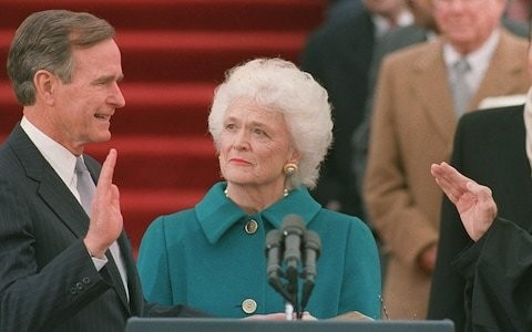 Barbara Bush suicidal after affair rumours, new books claims