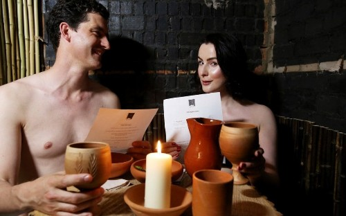 Hannah Betts: I had lunch at Britain's first naked restaurant