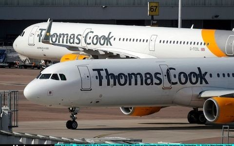 Airliner owners face $500,000-a-day bill from Thomas Cook collapse