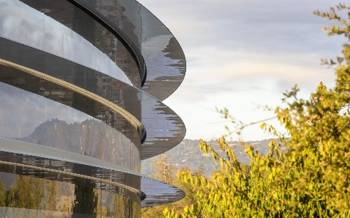 Apple Park: Inside Apple's new 'spaceship' campus - in pictures