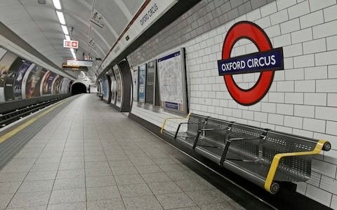 Oxford Circus: Commuter 'crushed by tube' during rush hour
