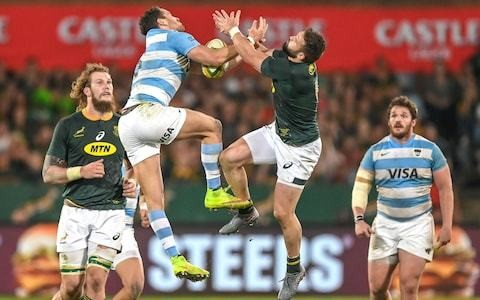 S'busiso Nkosi scores brace of sensational solo tries as South Africa survive scare to beat Argentina