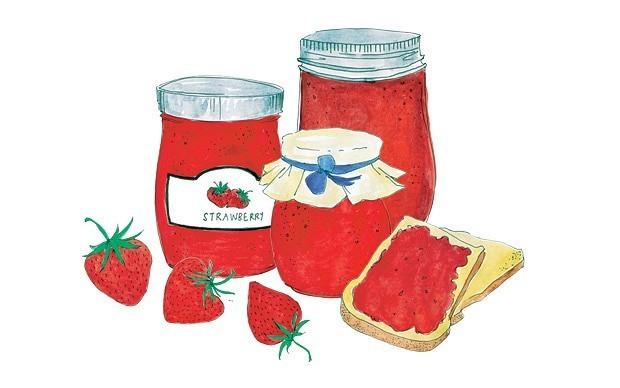 Strawberry jam forever