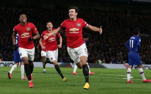 Chelsea left feeling aggrieved as Harry Maguire escapes red and Manchester United make most of VAR reprieves