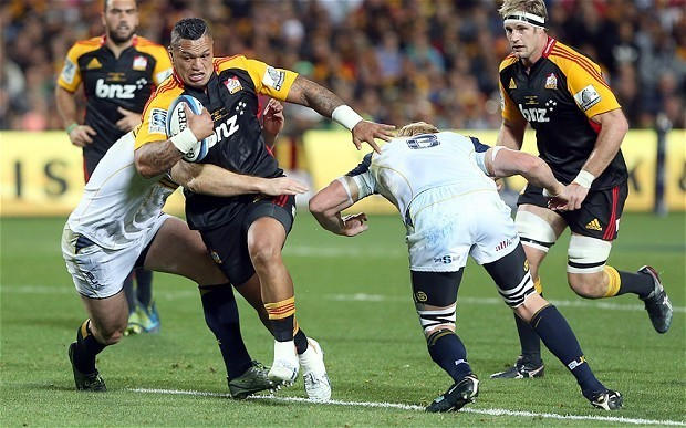 Waikato Chiefs win Super Rugby final after coming from behind to defeat ACT Brumbies 27-22