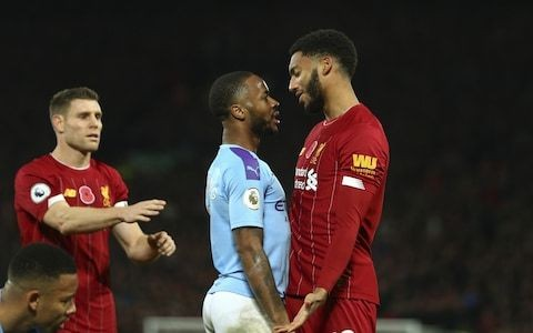 Raheem Sterling dropped for Montenegro match after confronting Liverpool's Joe Gomez on England duty