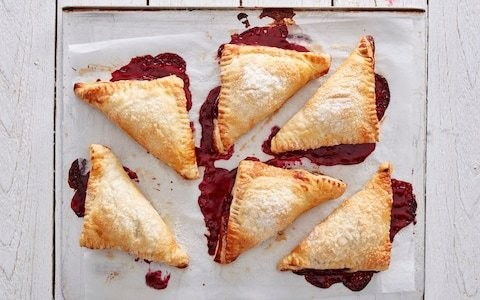 Classic cherry turnovers recipe