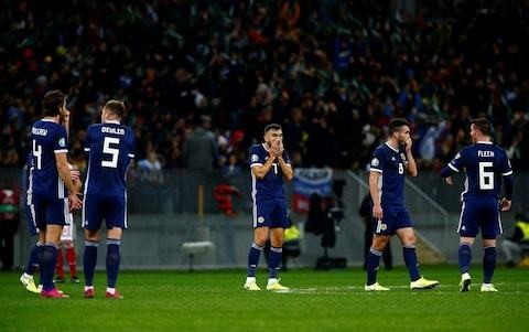 Steve Clarke urges Scotland to 'make sure this is the very, very bottom' after dismal defeat to Russia