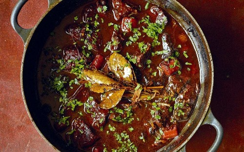 Raymond Blanc's braised beef in red wine