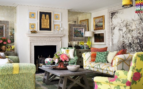 Bold, bright and playful prints: how to get interior designer Kit Kemp's in-demand look
