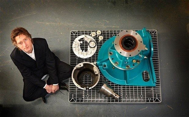 Designer hailed as next Dyson for compressor blade discovery